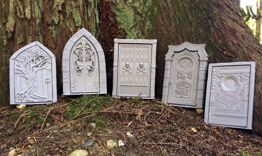 The Fairy Door Casts